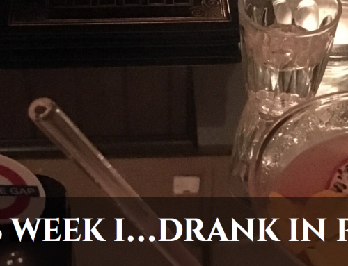 This week I… drank in Purl