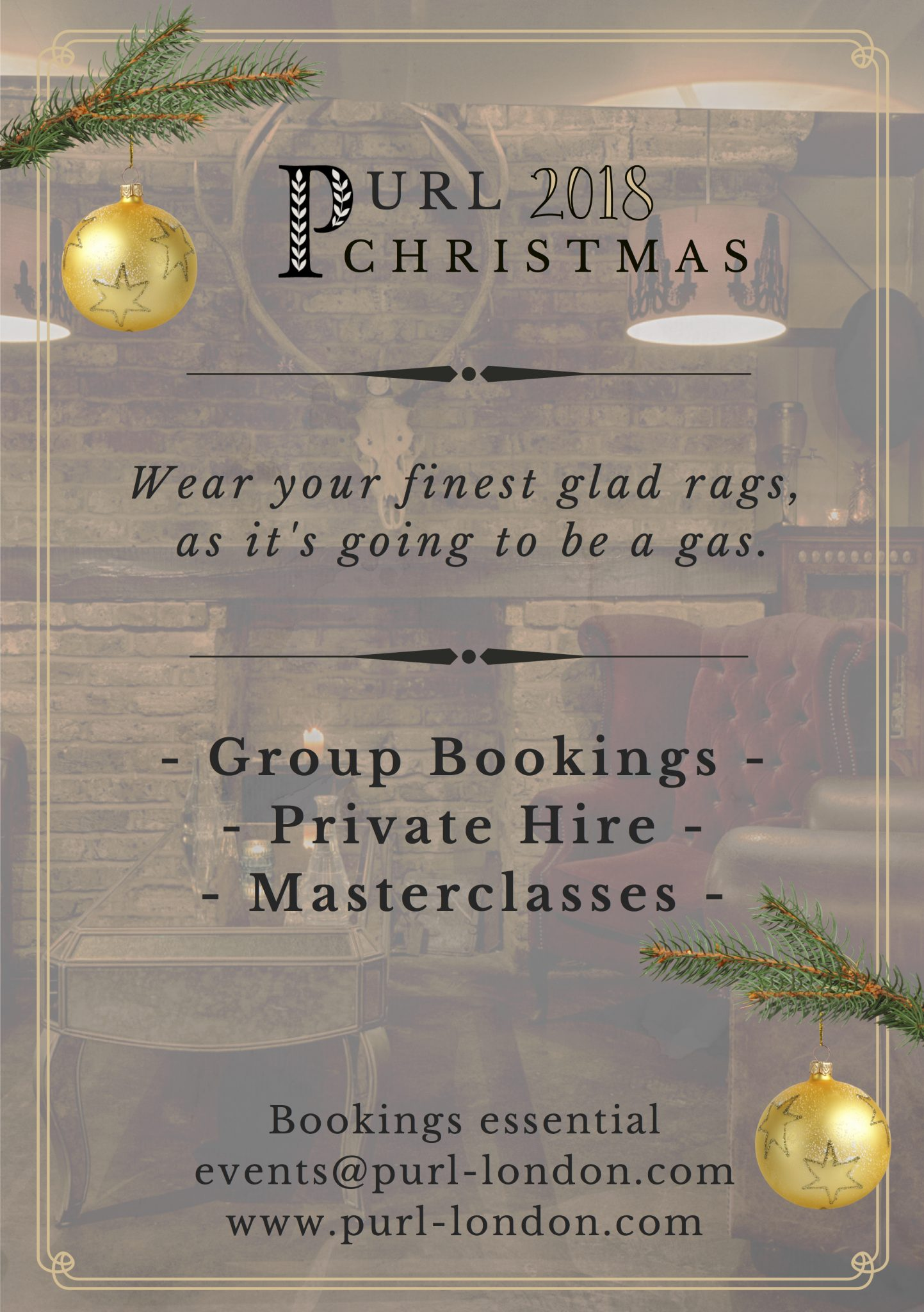 Christmas party, London, Christmas, corporate event, corporate party