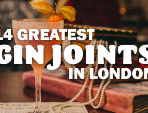 14 GREATEST GIN JOINTS IN LONDON 2020